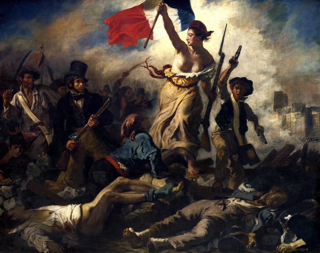 Eugène Delacroix: La liberté guidant le peuple