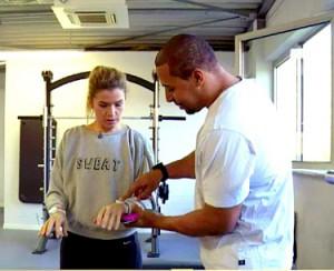 Anke und Nana Training